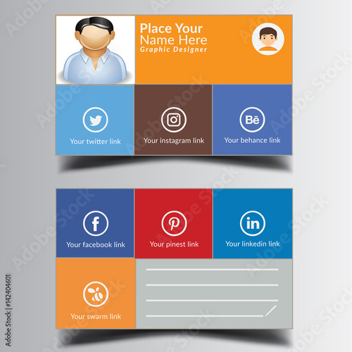 Creative business card print ready and editable vector file with creative business card print ready and editable vector file with nice background reheart Image collections
