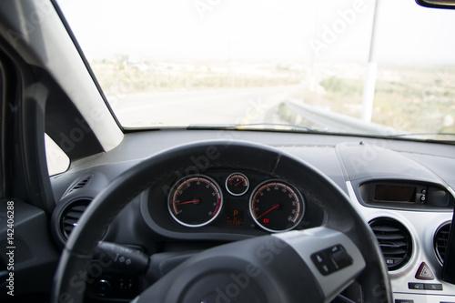 """Car Warning Symbols: """"Car Dashboard Warning Lights Symbols"""" Stock Photo And"""