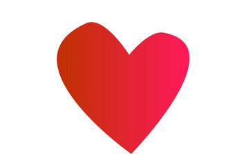 Heart Icon Vector. Love symbol. Valentine's Day sign