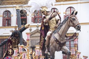 Fototapete - Santísimo Cristo de las tres caídas de Triana, semana santa de Sevilla