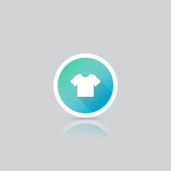 Modern Round T-Shirt Icon