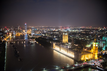 London Night Landscape