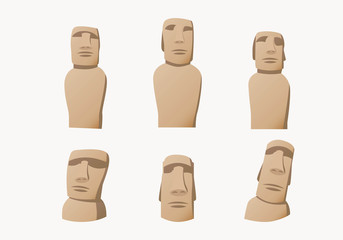 Easter Island Statue Collection.