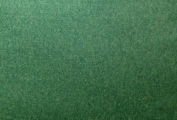 Close Up Background Pattern of Green Denim Texture
