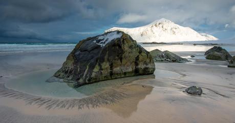 Lofoten beach, Norway