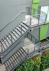 Foto op Plexiglas Trappen building outdoor stairs
