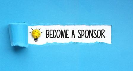 become a sponsor / Paper