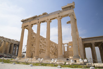 The Old Temple of Athena in Athens