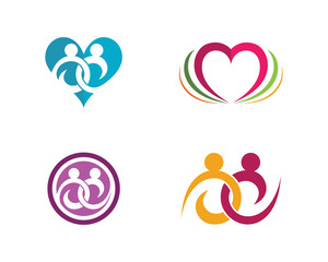 Love family care logo