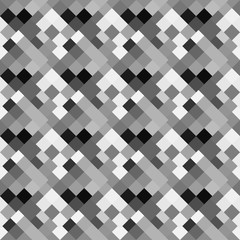 Black and white abstract background of squares