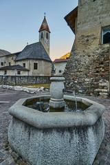 Historic building in Cogolo near Pejo, Italy