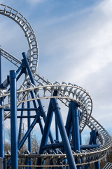 The Roller Coaster Track.