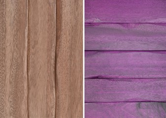 Wood texture. Lining boards wall. set. Wooden background. pattern. Showing growth rings