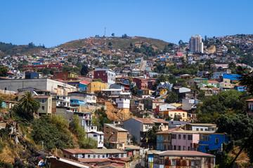 Keuken foto achterwand Athene Valparaiso cityscape, Chile
