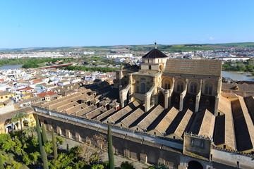 Luftansicht Mezquita-Catedral de Córdoba