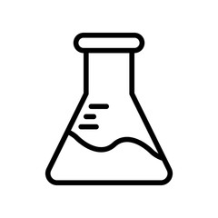 Science Icons - Test tube (Outline)
