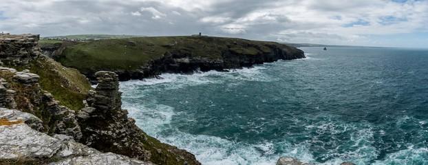 Panorama Tintagel Island