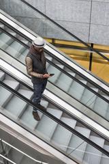 Man in Milan, Italy