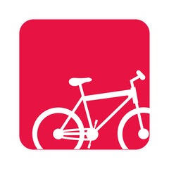 picture bicycle transportation image, vector illustration design