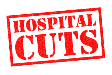 HOSPITAL CUTS Rubber Stamp