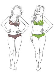 Swimsuit for Pear Body Type