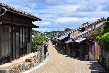 東海道関宿の街並み