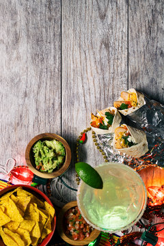 Fiesta: Mexican Food And Drink To Celebrate Cinco De Mayo