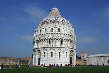 Baptisterium auf der Piazza dei Miracoli in Pisa