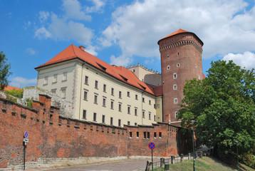 Autocollant pour porte Cracovie Krakow Old town