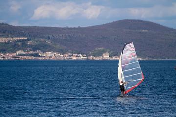 lake of bracciano activities near rome italy