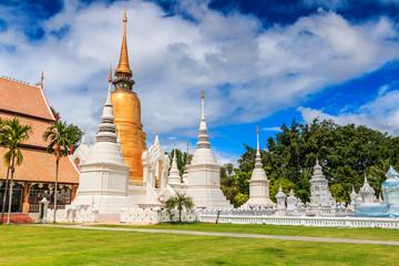 Wat Suan Dok in Chiangmai province of Thailand