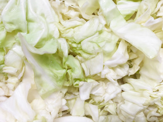 cabbage background,cut cabbage background