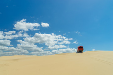 Sand dunes at Port Stephens