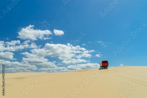 Sand dunes at Port Stephens