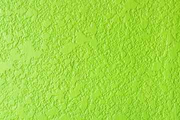texture of green rough cement wall