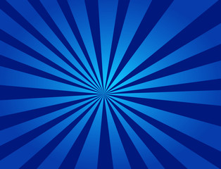 An abstract design of a blue radial background
