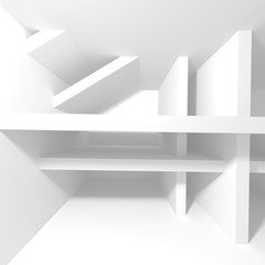 Abstract Modern Architecture Interior Background