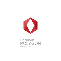 Abstract rhombus geometric vector brochure template with arrows. Flyer layout. Flat style. Infographic elements.