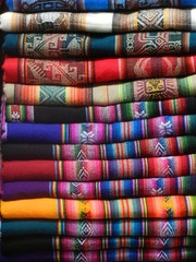 Colourful southamerican craft