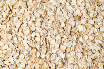 Poster de jardin Graine, aromate Oat flakes forming a background pattern
