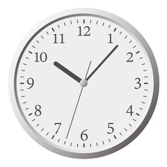 Clock flat icon. World time concept. Business background. Internet marketing. Daily infographic