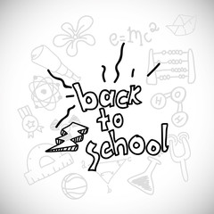 class and school scribbles cartoons drawing vector