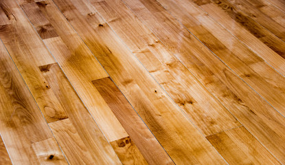 New intalled wood floor