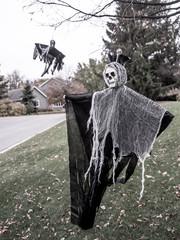 Ghosts are here for Halloween