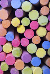 Chalks in a variety of colors.