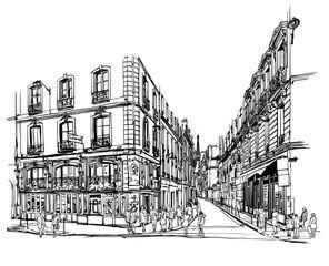 Printed roller blinds Art Studio Paris latin quarter