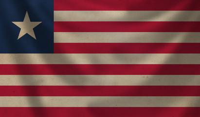 Flag of Liberia.