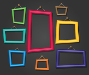 Cartoon Photo Picture Painting Drawing Frame