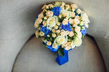 The luxury bouquet for bride
