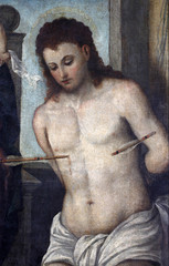 Tiziano Vecellio follower: St. Sebastian,